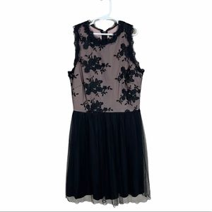 Speechless Lace and Tulle Fit & Flare Dress Size 5